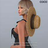 *COCO*_StrawHat_WearingAroundYourNeck_Natural