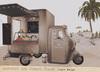 {vespertine}-icecream truck/beige