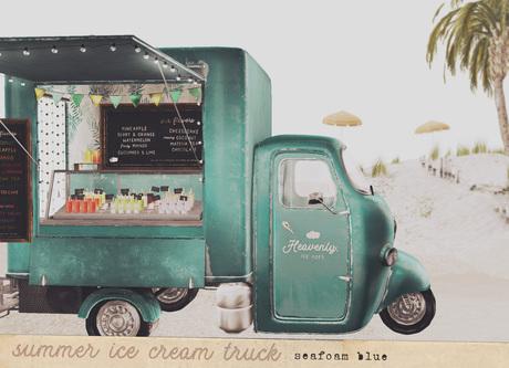 {vespertine}-icecream truck/seafoam