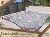 Beach cloth (mandala-maori) PG