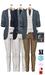 GIZ SEORN - Owen Blazer Suit [Blue-Royal].