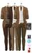 GIZ SEORN - Owen Blazer Suit [Camel-Brown].