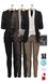 GIZ SEORN - Owen Blazer Suit [Black-Stone].