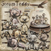 !gO! SteamTeddy COMPLETE SET