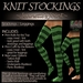 ~JJ~ Knit Stockings (lush)