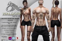 Waldorf Design. Bat Tattoo