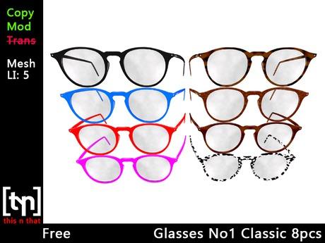 [tyn] Glasses No.1 Classic