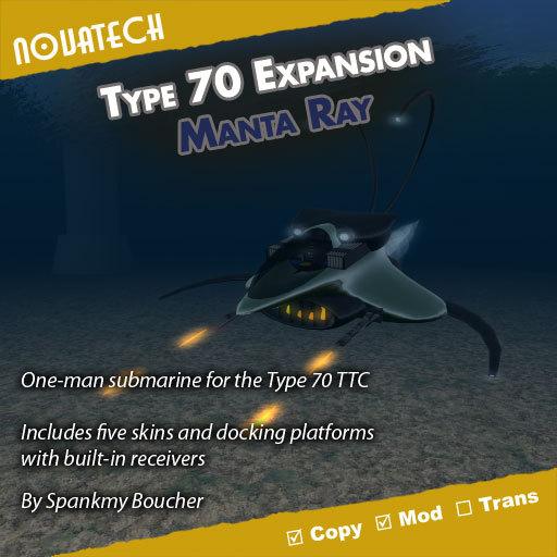 Type 70 Form - Manta Ray