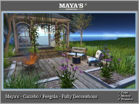 Maya's - Gazebo / Pergola - Fully Decorations