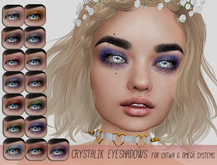 milk teeth. Crystalik Eyeshadows for Catwa and Omega Systems