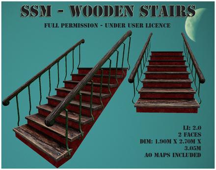 SSM - Wooden Srairs