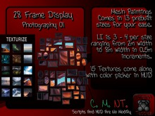 {T.t} 28 Frame Display + Photography 01