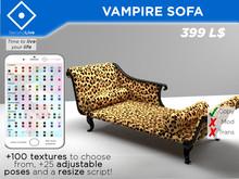 Sofá vampiro (+100 texturas) (Malla, PG, Poses, Master HUD)
