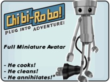 Chibi-Robo - Full Miniature Avatar