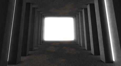 *cm*. Columns Tunnel photography Backdrop