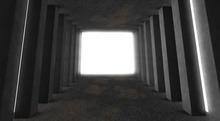 *cm*. Columns Tunnel photography Backdrop[BOXED]