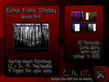 {T.t} Eloise Frame Display + Woods Art