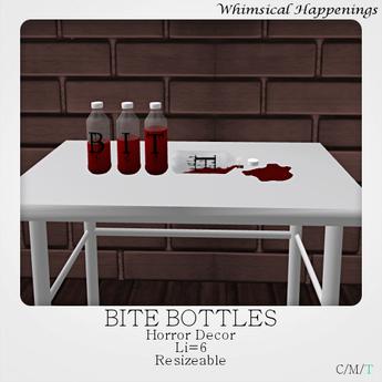 [Home Goods] - Bite Bottles
