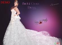 Bridal Lace Dress Serena - DEMO