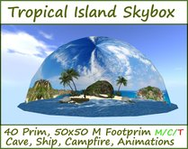 Tropical Island Skybox by Felix 40 Prim with panorama heaven