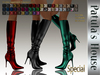 * Patulas House Special Boots (50 colors).