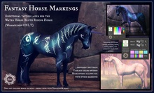 Jinx : Fantasy Horse Markings (WB) - Wear to Unpack