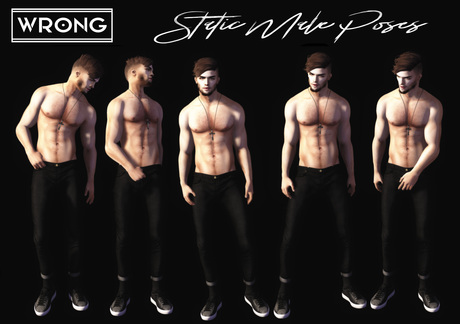 WRONG - Static Male Poses - 6