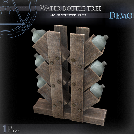 (Demo) Water bottle tree