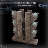 (Demo) Water bottle tree