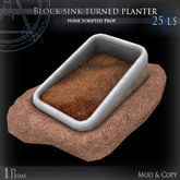 (Box) Block sink turned planter