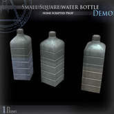 (Demo) Small Square water bottle