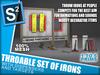 S2 Throwable Set of Irons
