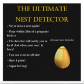 The Ultimate Nest Detector