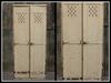 RE Corrugated Metal Cabinet - Grungy Locker Decoration