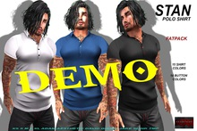 [F] DEMO - Stan Polo Shirt - Fitmesh - Fatpack
