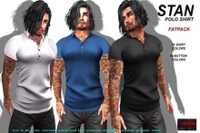 [F] Stan Polo Shirt - Fitmesh - Fatpack