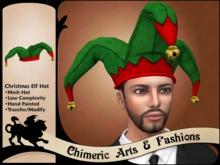 Christmas Elf Hat - Green
