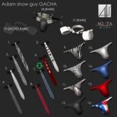 7-*AGATA* Adam tie stripe-A-Signature