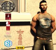 !!BHB!! [Promo] CLASSIC ROCK FITMESH TOP Tank v3 WITH HUD(AESTHETIC, TMP, SLINK, ADAM, SIGNATURE, belleza)
