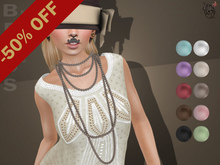 #187# Beads Necklace 50% OFF