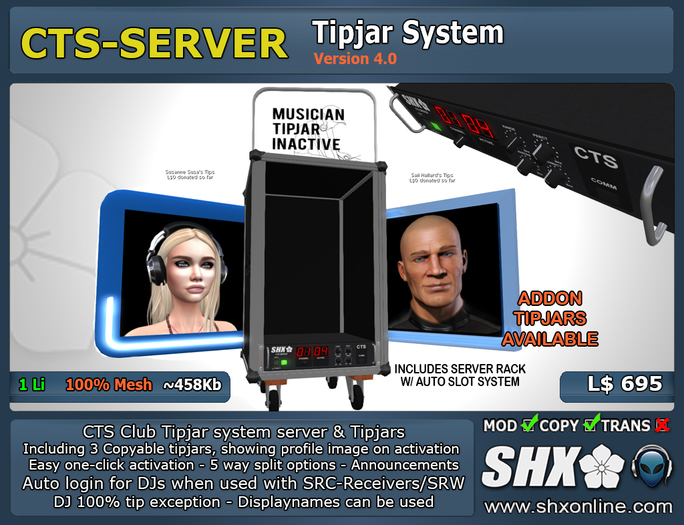 SHX-CTS-Server