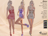 ST :: Monna Outfit for Maitreya, Slink Physique, Hourglass, Belleza Venus, Isis, Freya. 12 Textures HUD.