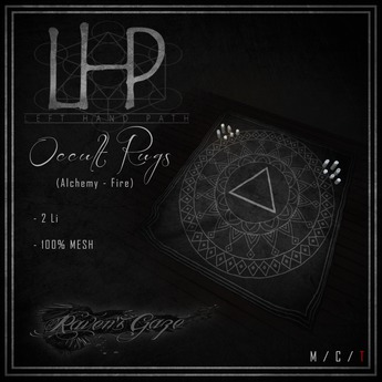[LHP] Alchemy - FIRE Rug
