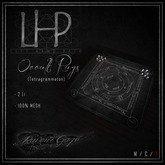 [LHP] Tetragrammaton Rug