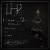 [LHP] Corner Altar - Black Tourmaline