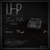 [LHP] Tarot Pillows - The Devil