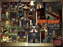 AKEANA'A - Gloomy Gargoyle - #06 - Fire & Water Cabinet - Light