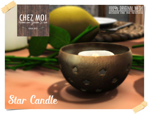 Star Candles ♥ CHEZ MOI