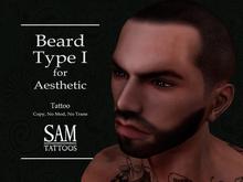 [SAM TATTOOS] HAIRFACE AESTHETIC BEARD TYPE I
