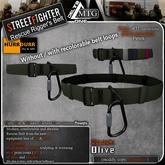 D1-MTG StreetFighter Rescue Rigger Belt Olive